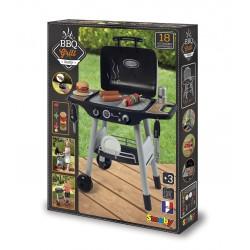 Smoby - Barbecue Plancha avec 18 accessoires