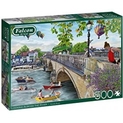 Puzzle 500 pièces - Falcon - Looking across the river