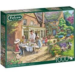 Puzzle 1000 pièces - Falcon - Country house retreat
