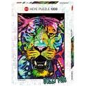 Puzzle 1000 pièces - Heye - Wild tiger - Jolly pets 29766