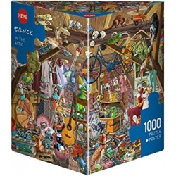 Puzzle 1000 pièces - Heye - In the Attic - Tanck 29885
