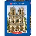 Puzzle 1000 pièces - Heye - Vive Notre Dame - Loup 29905