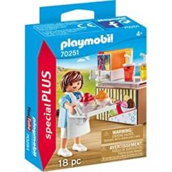 Playmobil 70250 - Enfants avec luge