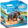 Playmobil 70354 - Hippo with Calf