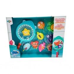 Little Moppet - Animaux flottants - Ensemble de pêche