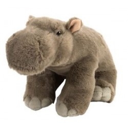 Wild Republic 16620 - Hippo Stuffed Animal - 12""