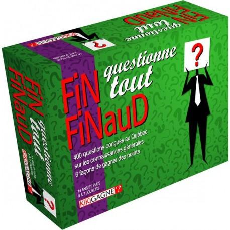 Fin Finaud - Questionne Tout - Kikigagne
