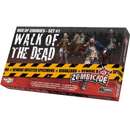 Zombicide - Extension: Walk of the dead 1 - Cool mini or not