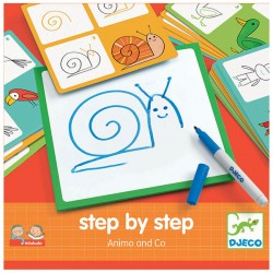 Djeco DJ08319 - Step by Step Animo et Co