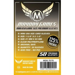 Mayday Games MDG-7075 - Protecteurs de cartes premium - 41 x 63mm