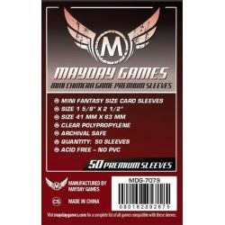 Mayday Games MDG-7079 - Protecteurs de cartes premium - 43 x 65mm