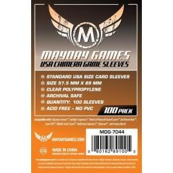 Mayday Games MDG-7044 - Protecteurs de cartes - 57.5 x 89mm