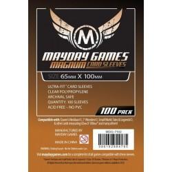 Mayday Games MDG-7102 - Protecteurs de cartes Magnum - 65 x 100mm