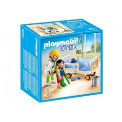 Playmobil 6661 - Doctor with Child
