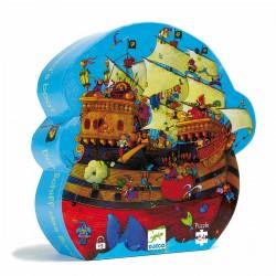 Djeco DJ07241 - Jigsaw puzzle 54 pcs - Barbarossa's boat