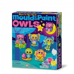 4M® 4654 - Mould & Paint Glow-in-the-dark - Owls