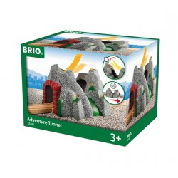 Brio World 33481 - Tunnel d'aventures