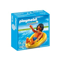 Playmobil® 6676 - Summer Fun - Vacancier et bouée de rafting